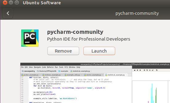 install pycharm ubuntu