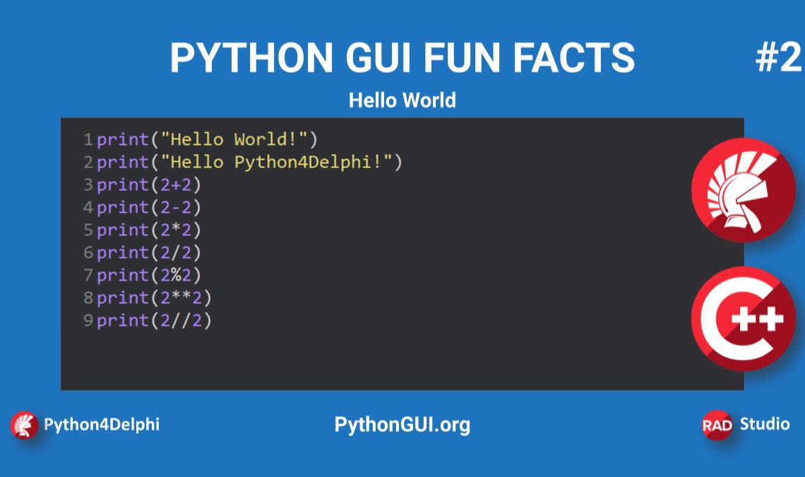python hello world in python gui