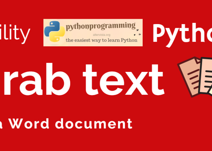 Grab text from Word