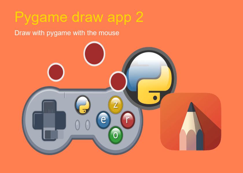Pygame drawing 2 | python programming