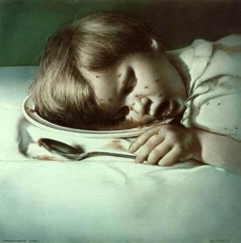 Lebensunwertes Leben by Gottfried Helnwein