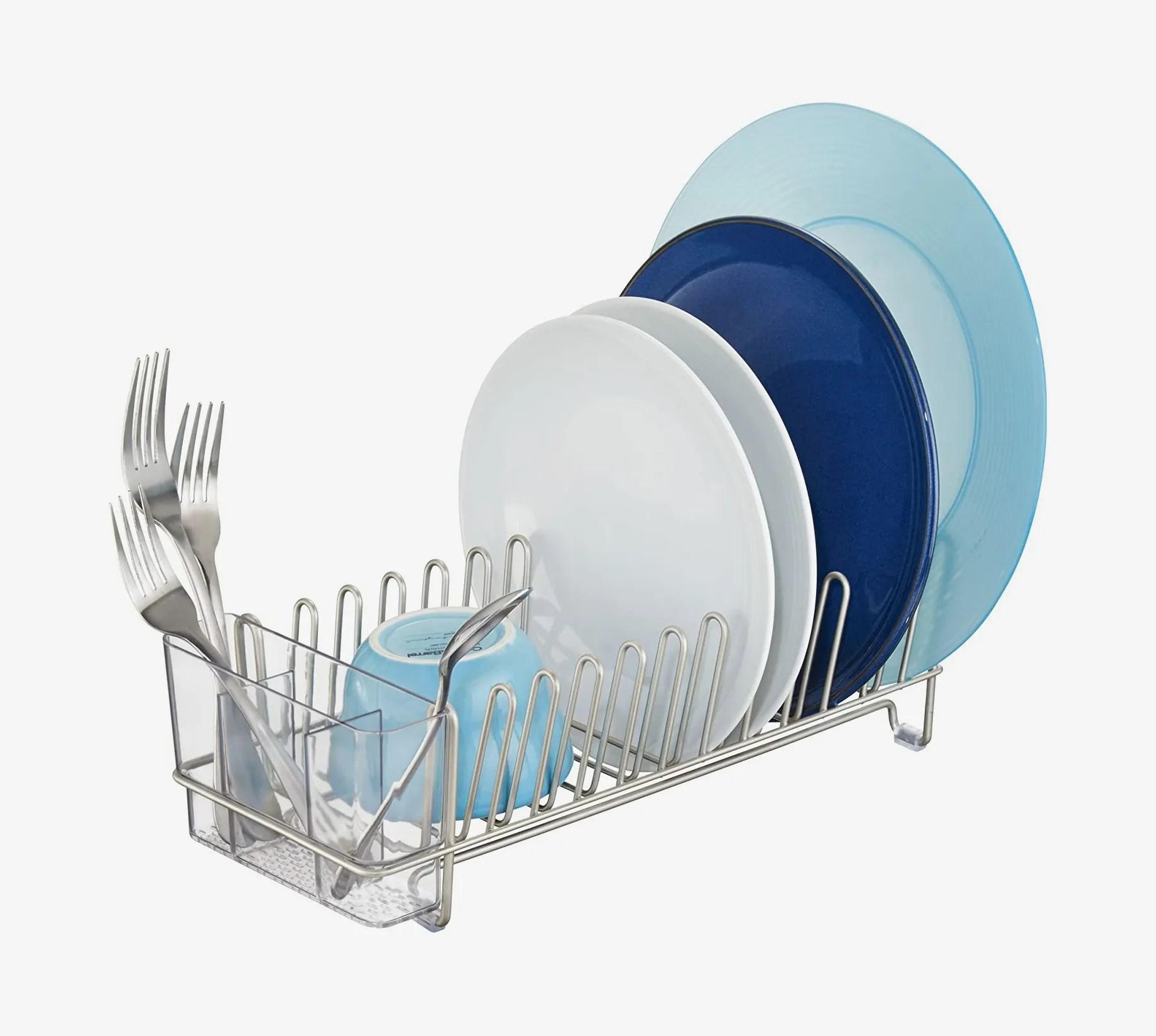 idesign classico metal dish drainer rack