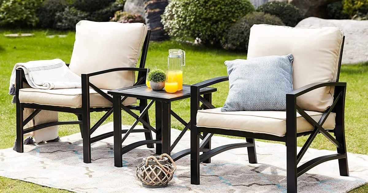 the best patio furniture sets according to hyperenthusiastic reviewers