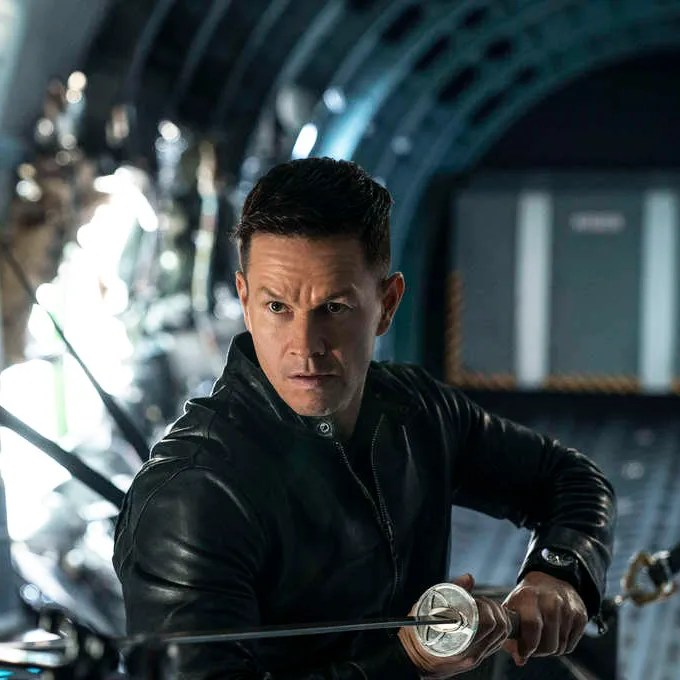 Mark Wahlberg in Infinite.