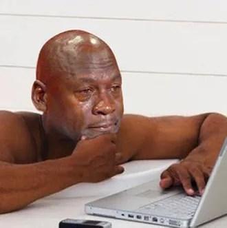 Lakers Video Michael Jordan Jokes About Infamous Crying Meme As
