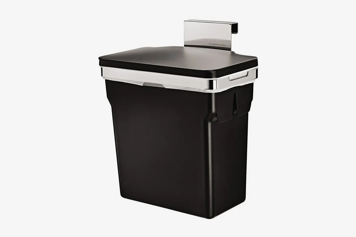 simplehuman 10 liter 2 6 gallon in cabinet kitchen trash can