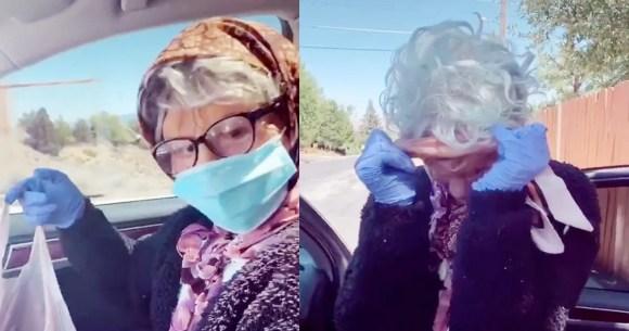 Teens Are Disguising As Mask-Wearing Grandmas to Buy Booze