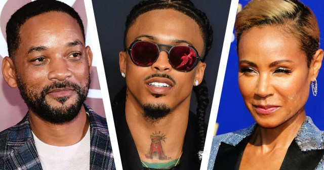 Will Smith reacts to joke about Jada's 'entanglement' with August Alsina