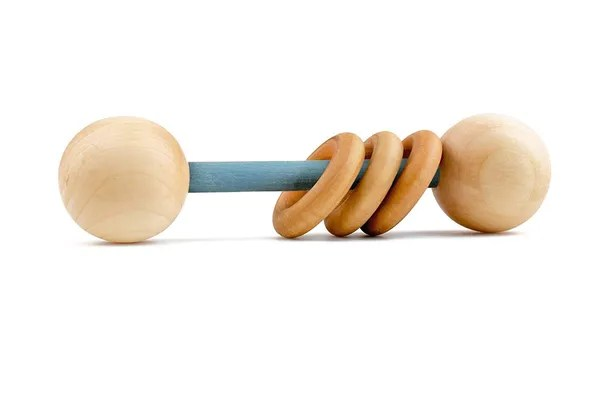 Homi Baby Organic Wood Montessori Styled Baby Rattle