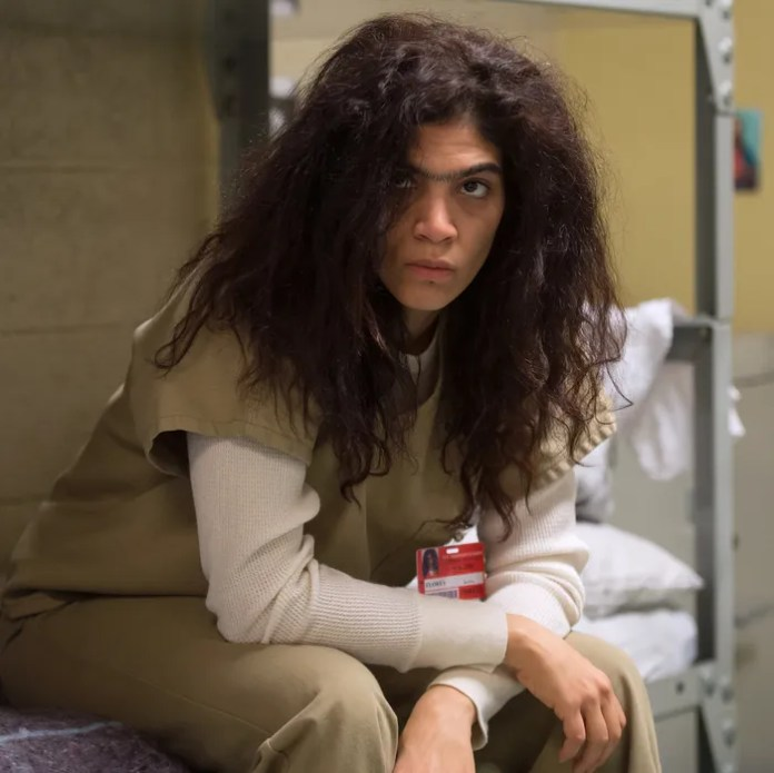 Laura Gomez as Blanca Flores.