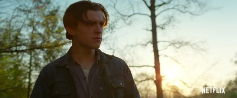 Tom Holland in The Devil all the Time recensie in Netflix België