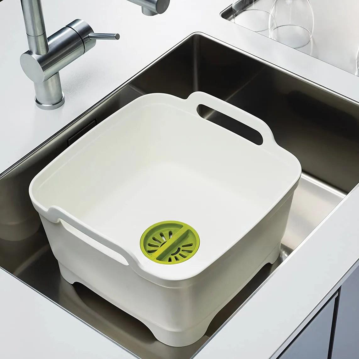 joseph joseph wash drain dishwashing tub