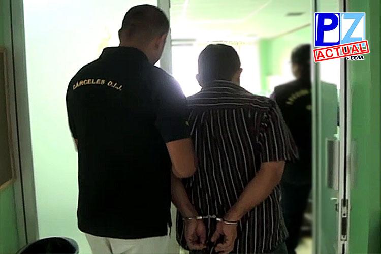 Ricardo Blanco es llevado a la audiencia. pzactual.com