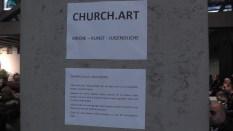 Dekoration durch die Jugendkirche