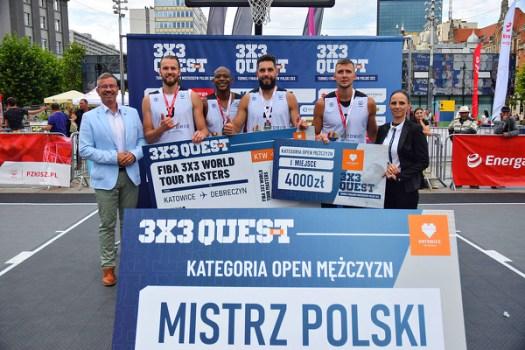 Team Poland MISTRZEM POLSKI w koszykówce 3x3!