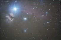Barnard 33, Lófej és Láng köd