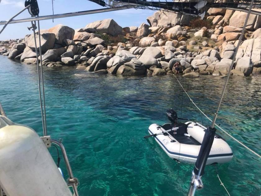Convyage bateau pz sailing Corse 2