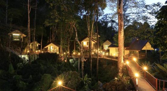 Khao sok, Tailandas - nameliai medyje