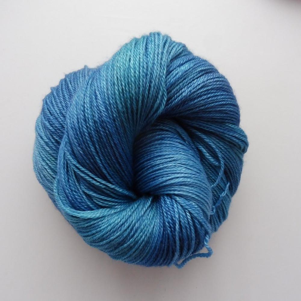 BFL Seide Kaschmir - Blaugrün Shop