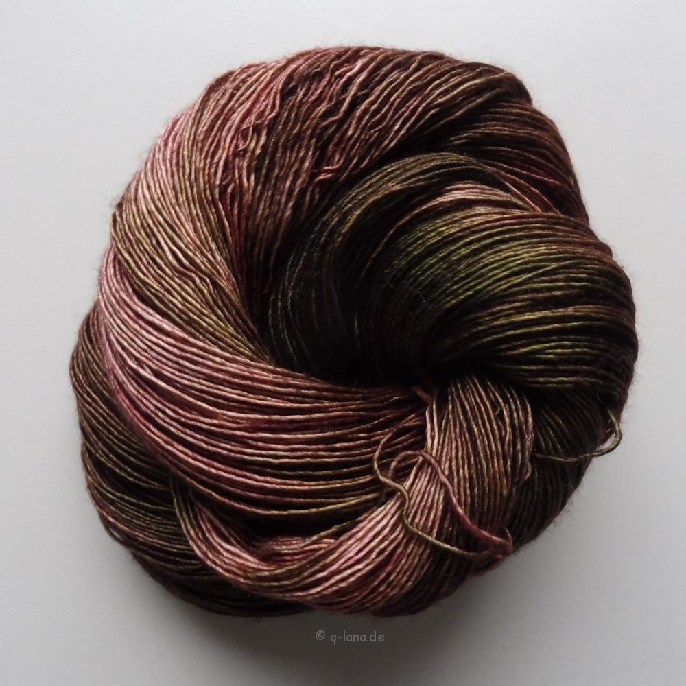 Merino Silk Single - Rosa antigua Shop