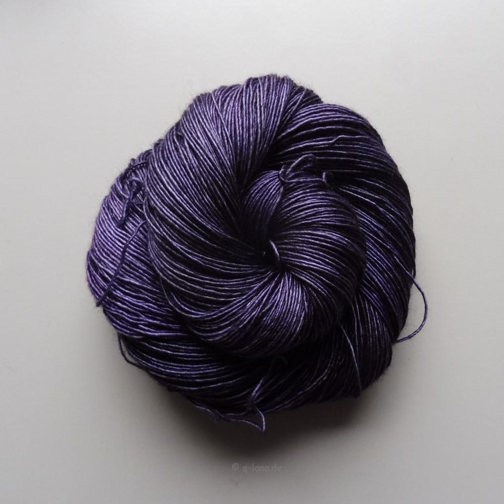 Merino Silk Single - Veilchenpastille II Shop