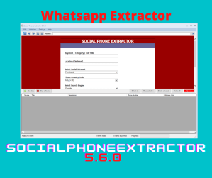 SocialPhoneExtractor 5.6.0 - Whatsapp Extractor