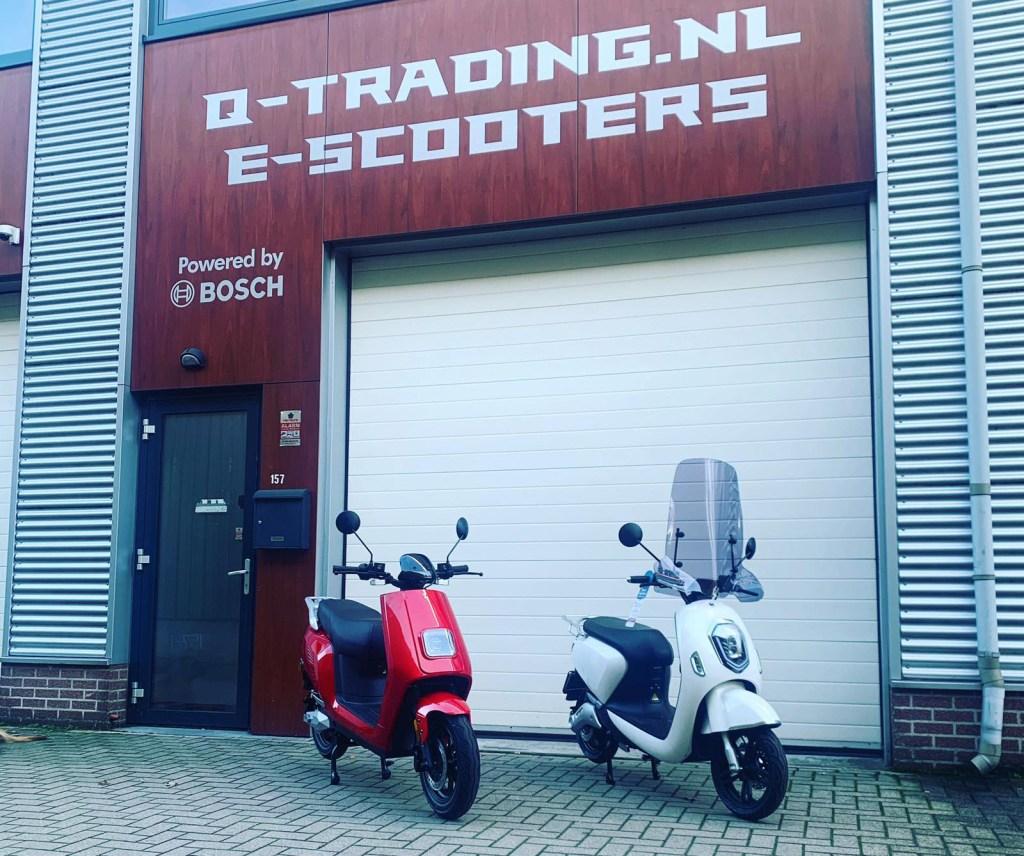 Q-Trading elektrische scooters