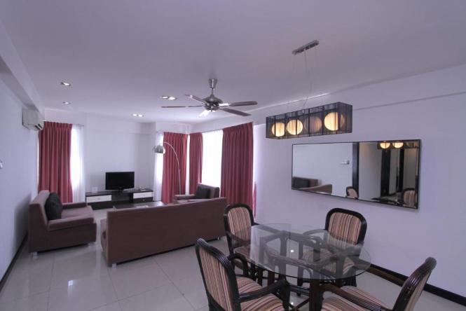 Kk Apartment 3 Bedrooms Suite Likas
