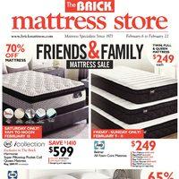 Mattress Friends Family Valid Tue Feb 6 Thu 22