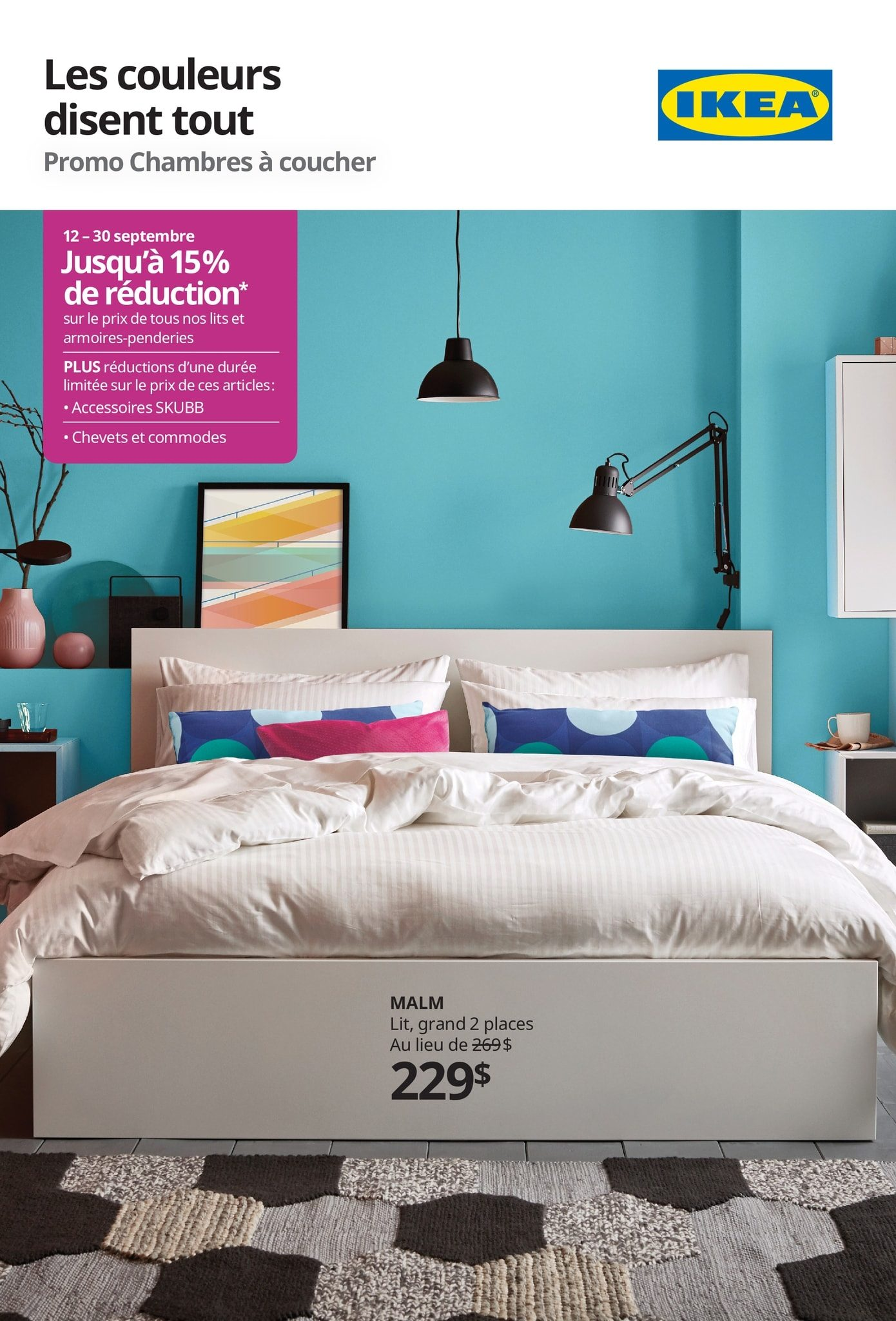 Ikea Weekly Flyer Promo Chambres à Coucher Sep 12 30