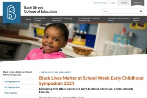 Read more about the article Bank Street College's Anti-Black Racism in Early Childhood Education Symposium 2021