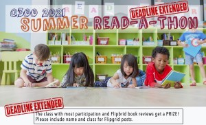 Read more about the article 2021 Summer Read-a-Thon (deadline extended to 10/18/2021)