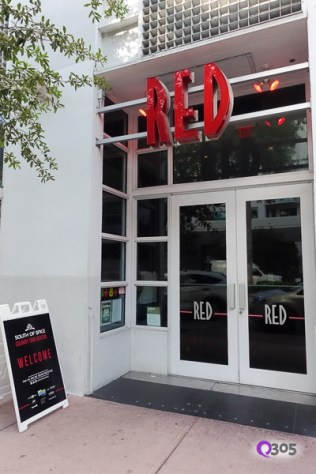 Exterior of Red The Steakhouse