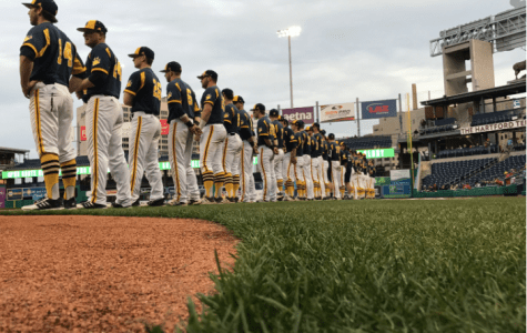 Quinnipiac falls to Hartford 6-4 in first game played at Dunkin' Donuts Park