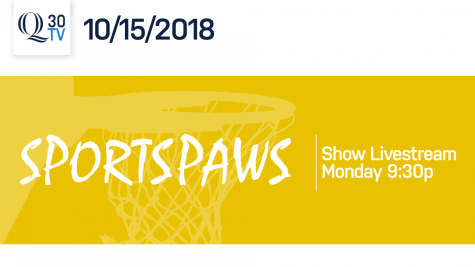 Sports Paws: 10/15/18
