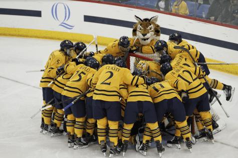 Top 5 Plays of the Quinnipiac men's ice hockey season to date