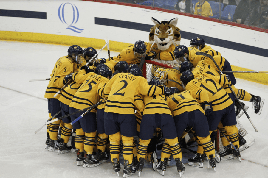 Top 5 Plays of the Quinnipiac men's ice hockey season to date