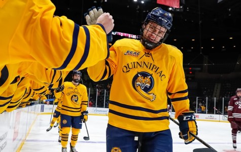 Quinnipiac's leaders reach milestones as Bobcats dominate Raiders 6-0