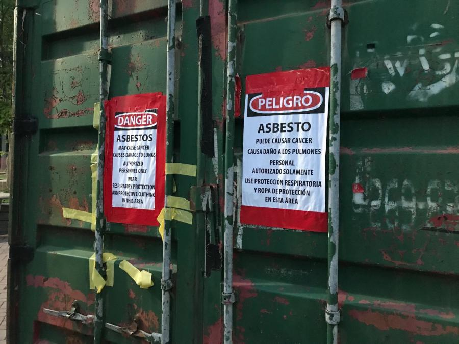 Asbestos found in Residence Halls under renovation