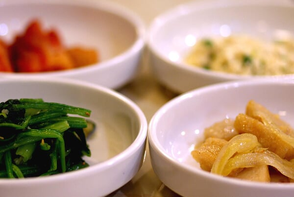 Complimentary KimChi & other appetizers