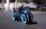 Real Life Tron Light Cycle Motorbike