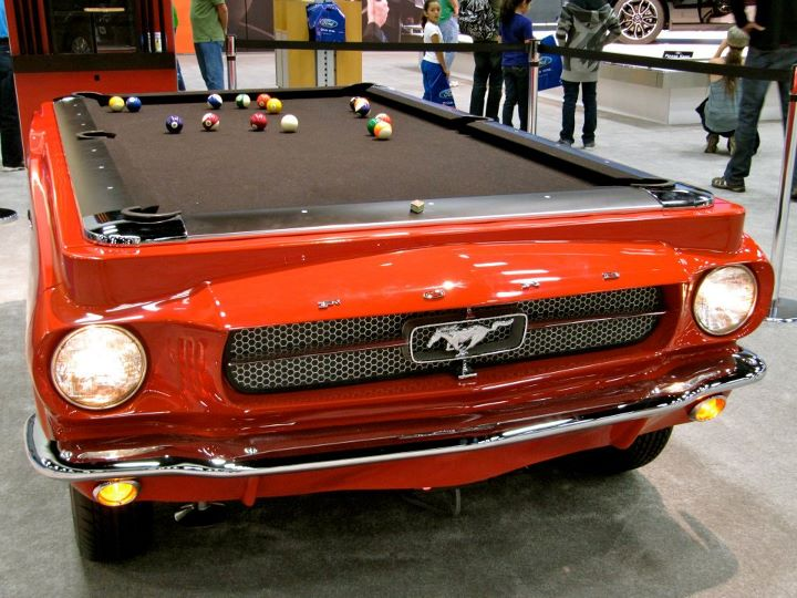 Superb Ford Mustang Pool Table Amazing Pictures