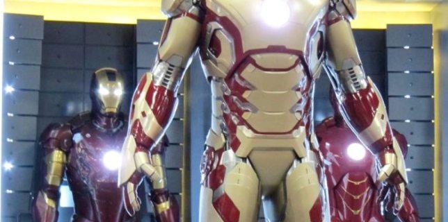 New Iron Man 3 Armor At Comic-Con