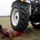 Getting Run Over By A Tractor