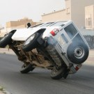 Crazy Stunt Driving in Kuwait
