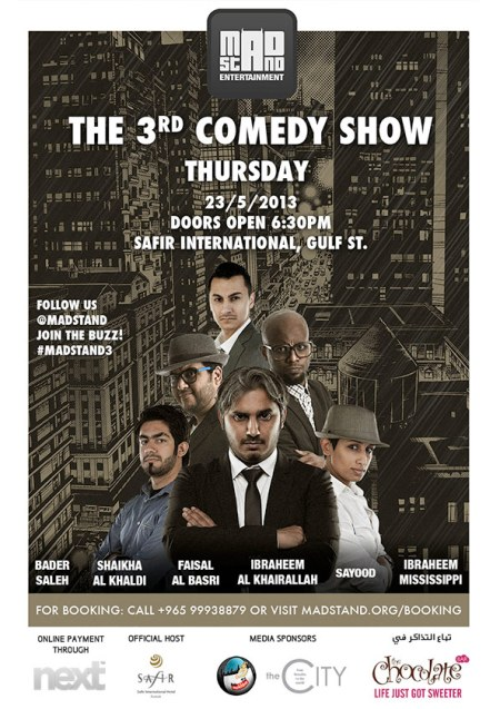 The 3rd Comedy Show at Safir International Hotel