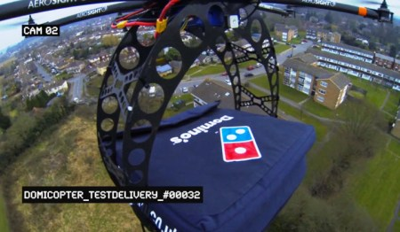 Introducing the Domino's DomiCopter
