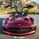 The Iron Man Mercedes-Benz SLS AMG