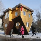Upside Down House in Russia