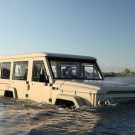 Amphicruiser: Amphibious 4WD Powered By Toyota Land Cruiser